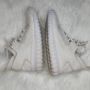 Adidas high top white Tubulars